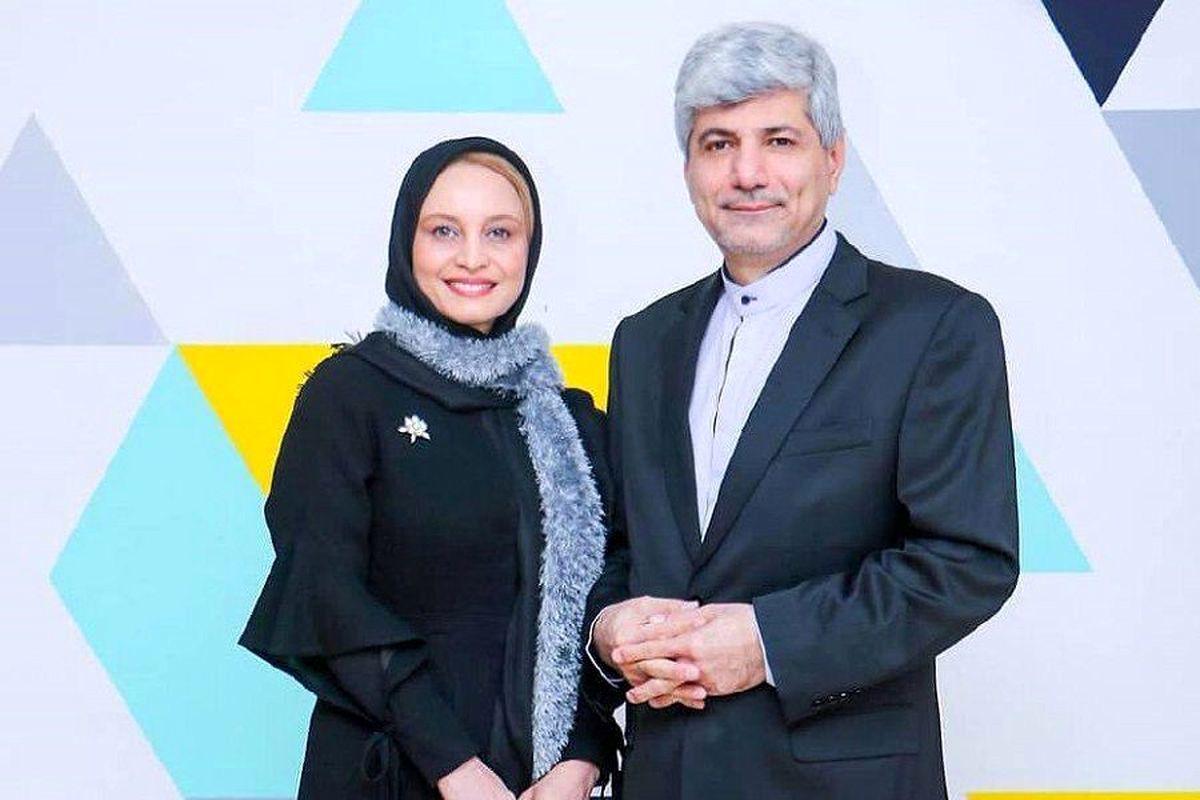 مریم کاویانی از شوهر سیاسی اش طلاق گرفت | عکسهای مریم کاویانی و شوهرش