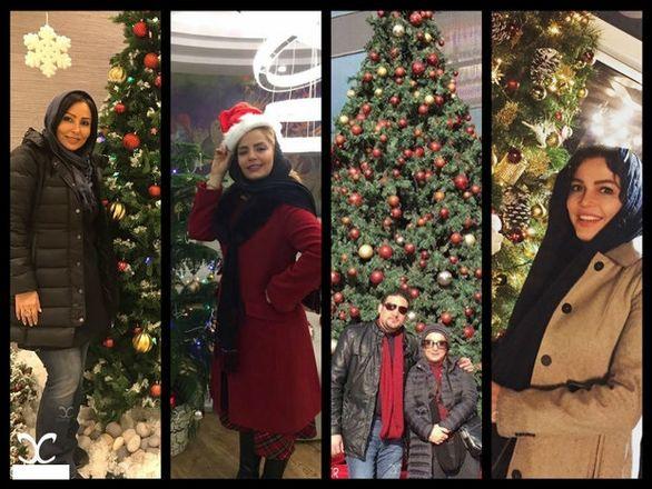 شوآف با کریسمس؛ بازی جدید سلبریتیهای ایرانی