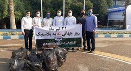 اجرای مراسم پاکسازی محوطه شرکت پگاه خوزستان