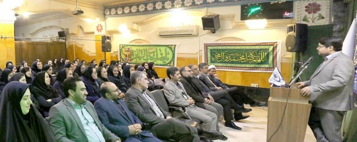 برگزاری مراسم روز زن در  شرکت نفت ایرانول