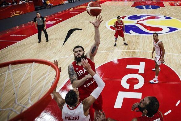 باخت تیم ملی بسکتبال ایران مقابل اسپانیا