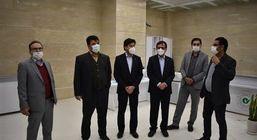 بازدید رییس هیات مدیره بانک مهر ایران از شعب استان هرمزگان