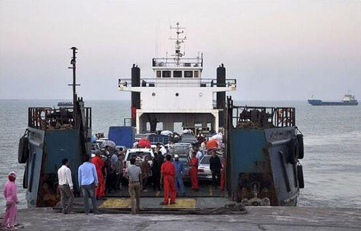 سفرهای دریایی به کیش ۵۲ درصد کاهش یافت
