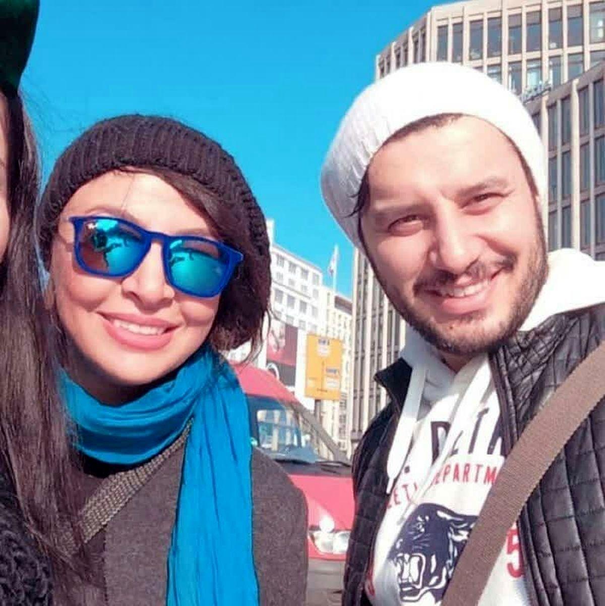 رقص زیبای جواد عزتی و هانیه توسلی + فیلم لورفته