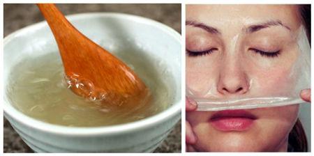 ماسک ژلاتین,ماسک ژلاتین برای صورت,انواع ماسک ژلاتین