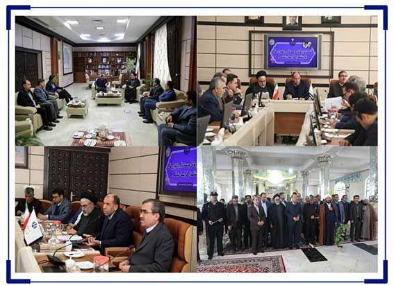 حضور مدیرعامل ملل در جلسه استاندار و فرماندار خراسان شمالی