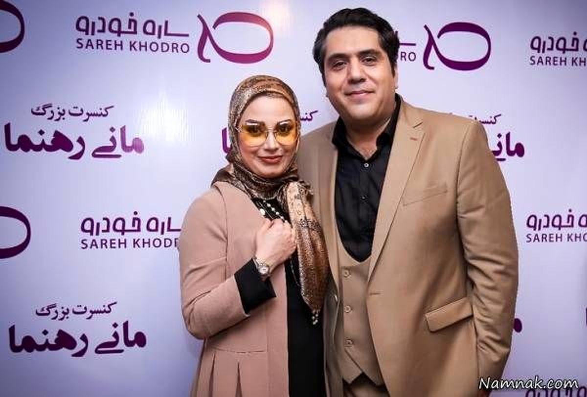آواز خواندن جنجالی صبا راد همراه همسرش بعداز مهاجرت لو رفت+فیلم دیده نشده