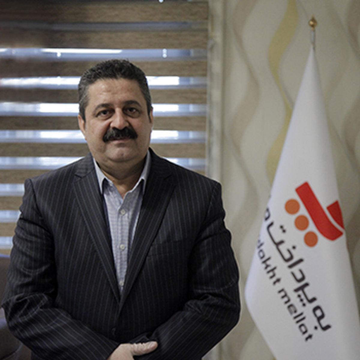 محمدرضا نمازی، مدیرعامل شرکت بهپرداخت ملت شد