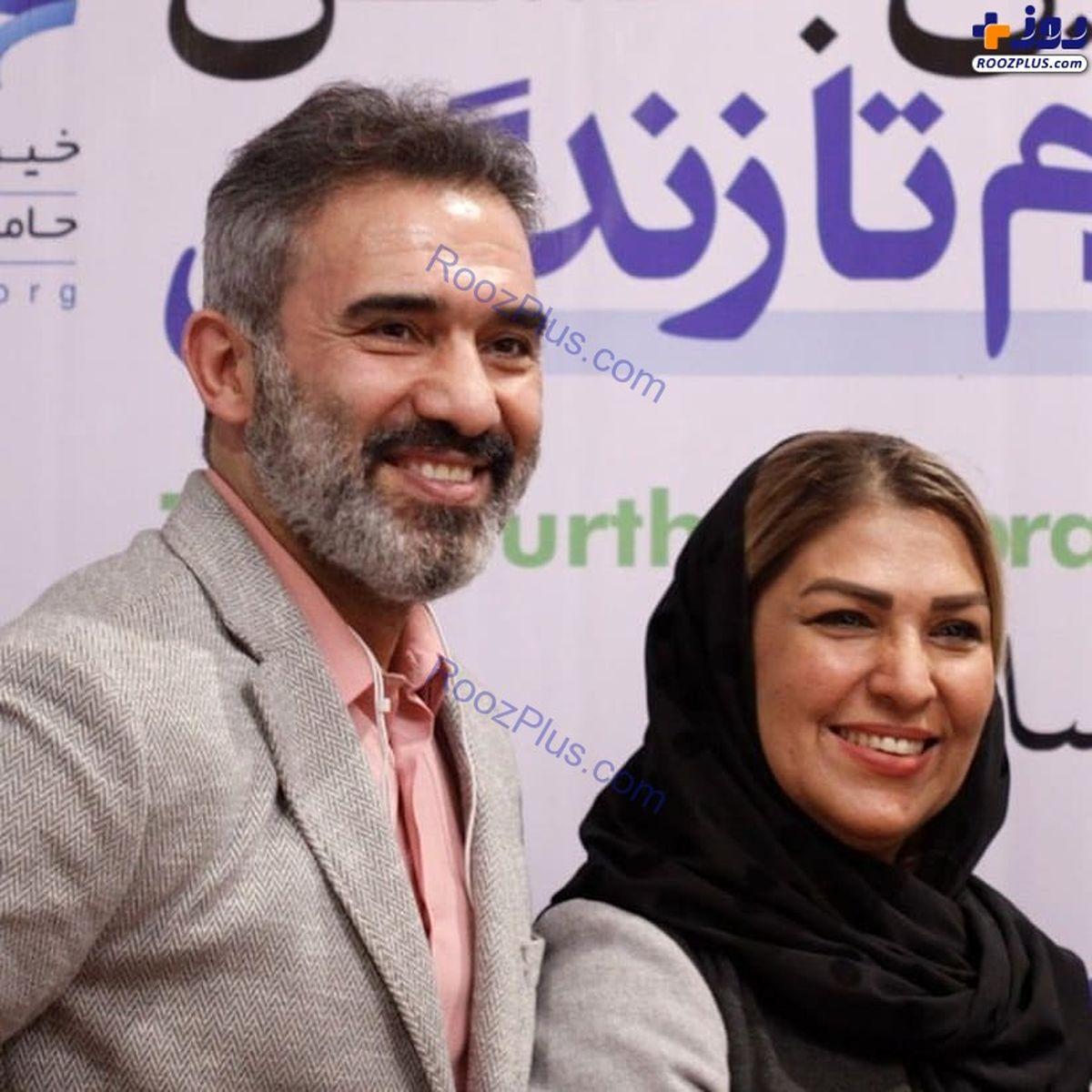 زندگی ثروتمندانه احمدرضا عابدزاده + عکس همسرش
