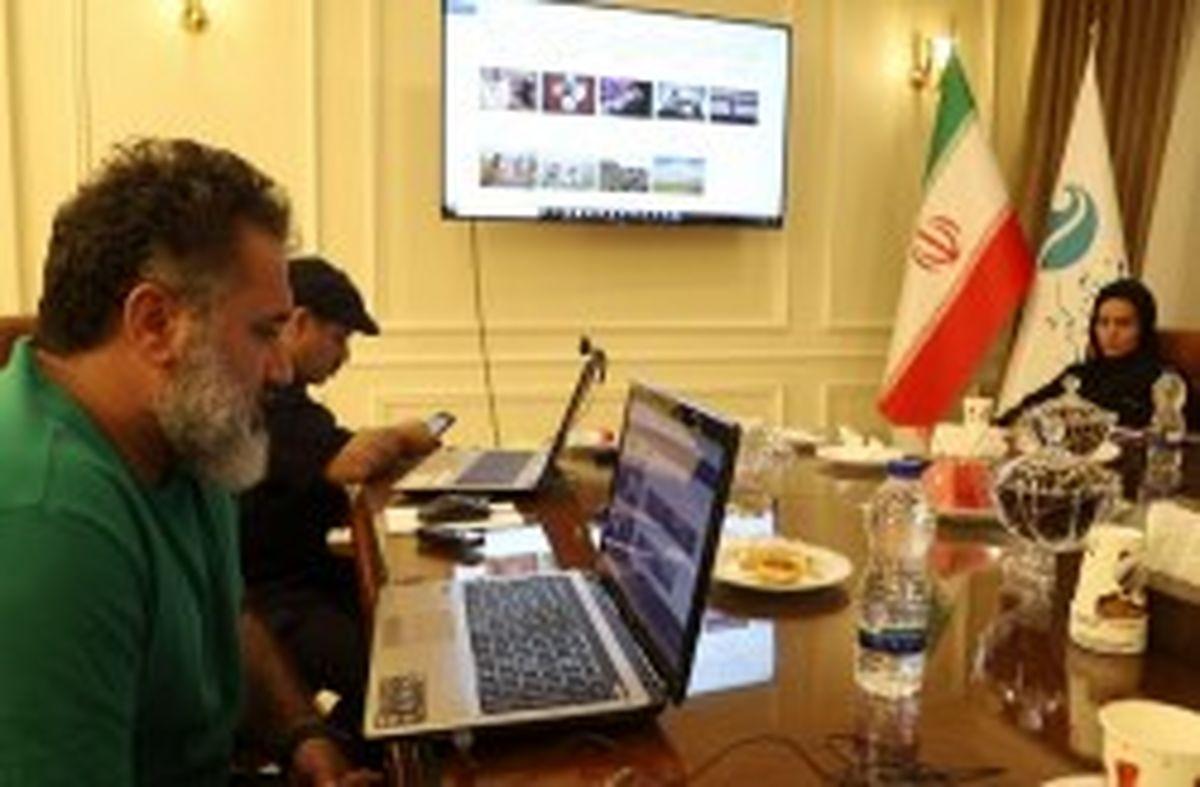 """معرفی برگزیدگان مسابقه عکس """"بانوی ایران زمین"""" در کیش"""