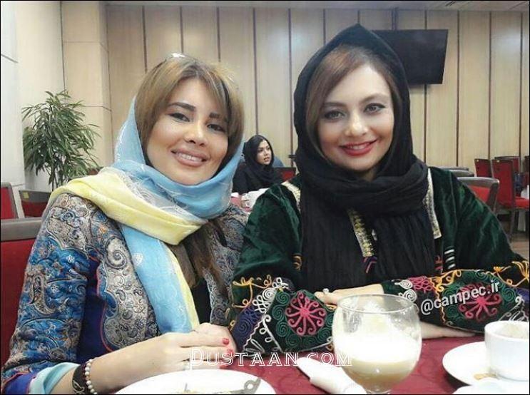 عکس دیدنی یکتا ناصر در کنار خواهرش نیکتا - مجله اینترنتی دوستان