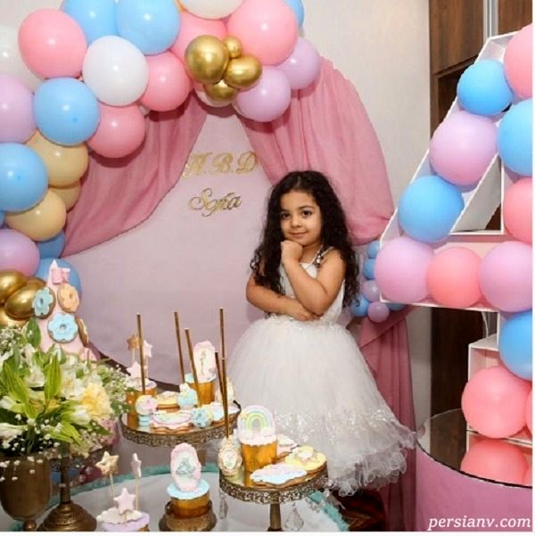 جشن تولد لاکچری دختر یکتا ناصر و منوچهر هادی در روزهای کرونایی + تصاویر