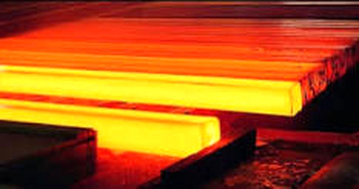 تولید شمش فولادی از سطح ۵.۷ میلیون تن گذشت