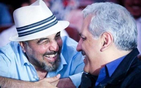 مهران مدیری و رضا عطاران