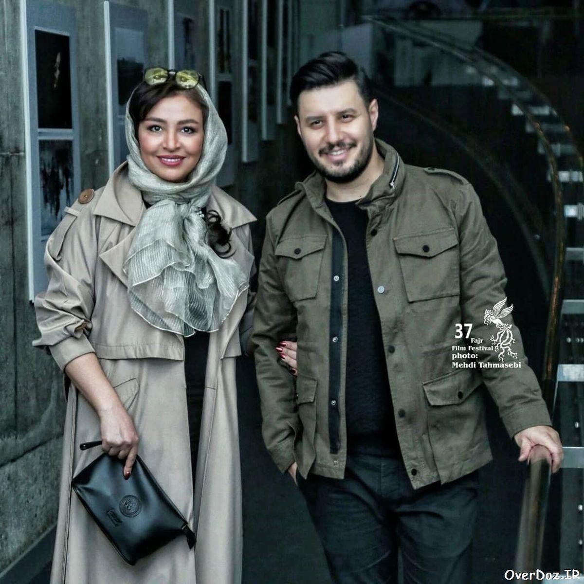 تیپ جالب همسر جواد عزتی در آلمان + عکس همسر جواد عزتی