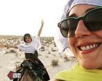 عکس های جنجالی از گلشیفته فراهانی و زهرا امیر ابراهیمی در صحرا + تصاویر و جزئیات