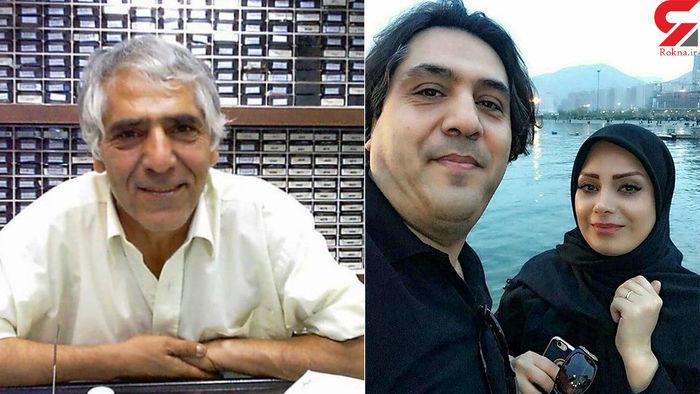 صبا راد و همسرش عزادار شدند + عکس | نشان آنلاین