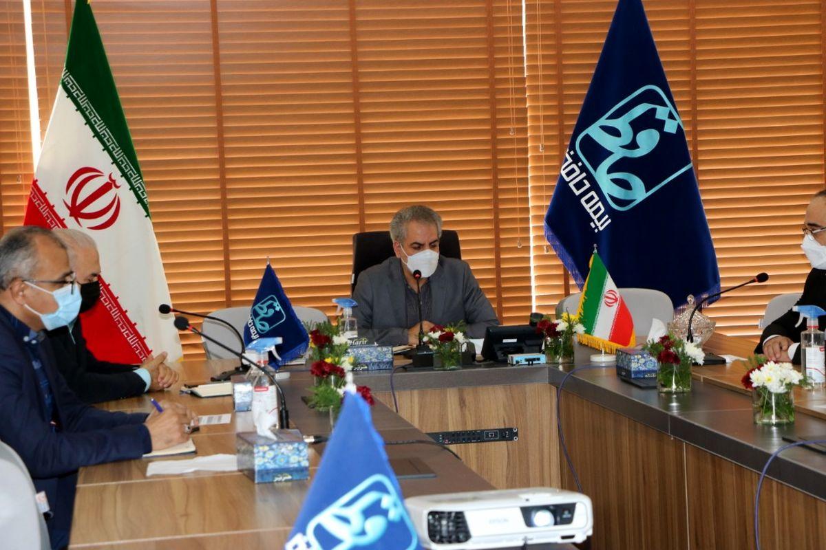 """برگزاری همایش جشن نوزدهمین سالگرد تاسیس شرکت بیمه """"حافظ"""" بصورت آنلاین"""