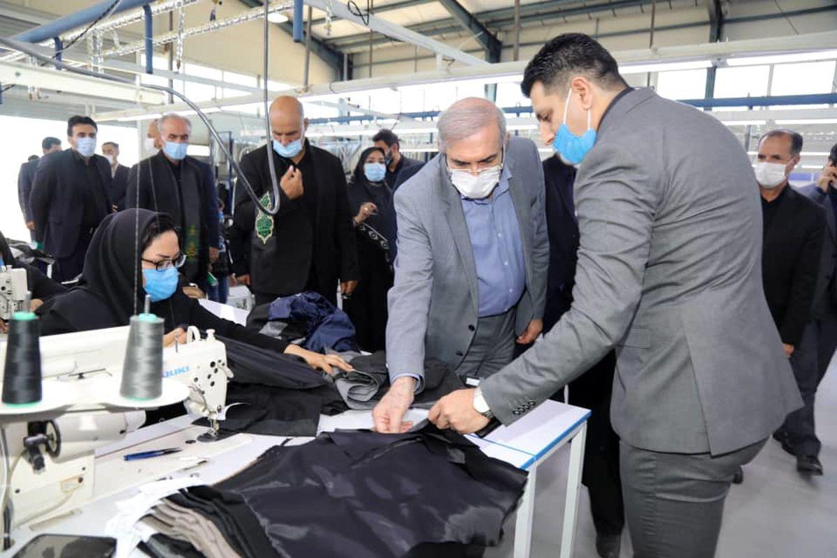 «شرکت پاشادوخت ارس» با حضور مشاور رییس جمهور افتتاح شد