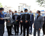 افتتاح نمایشگاه گرامیداشت هفته دفاع مقدس در سازمان تامین اجتماعی