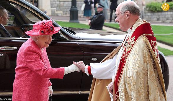تصاویری از مراسم ازدواج عضو خانواده سلطنتی
