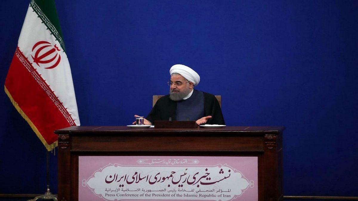 نشست خبری رئیس جمهور دوشنبه برگزار میشود