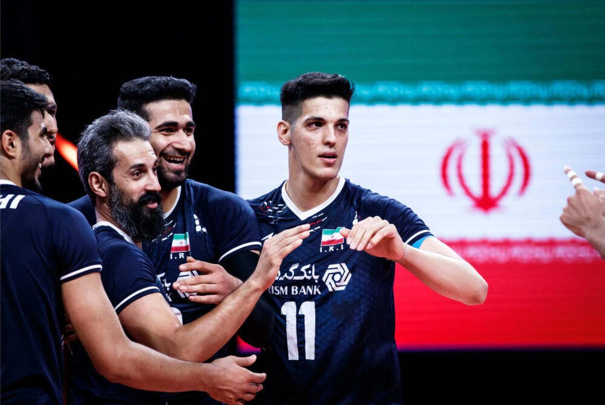 ساعت بازی والیبال ایران – صربستان