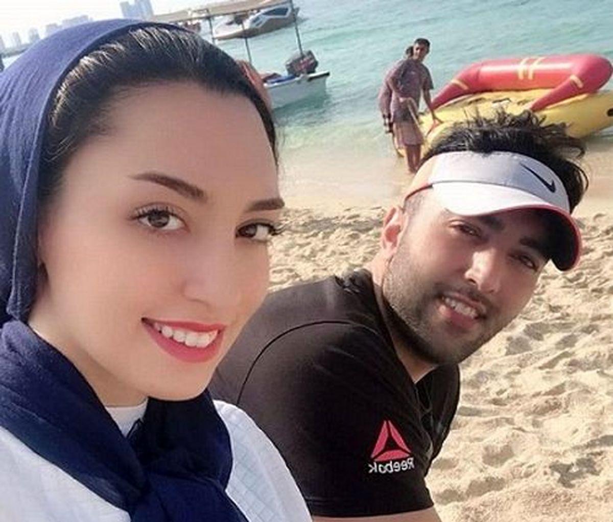 اظهارات عجیب و غریب کیمیا علیزاده درباره همسرش + جزئیات