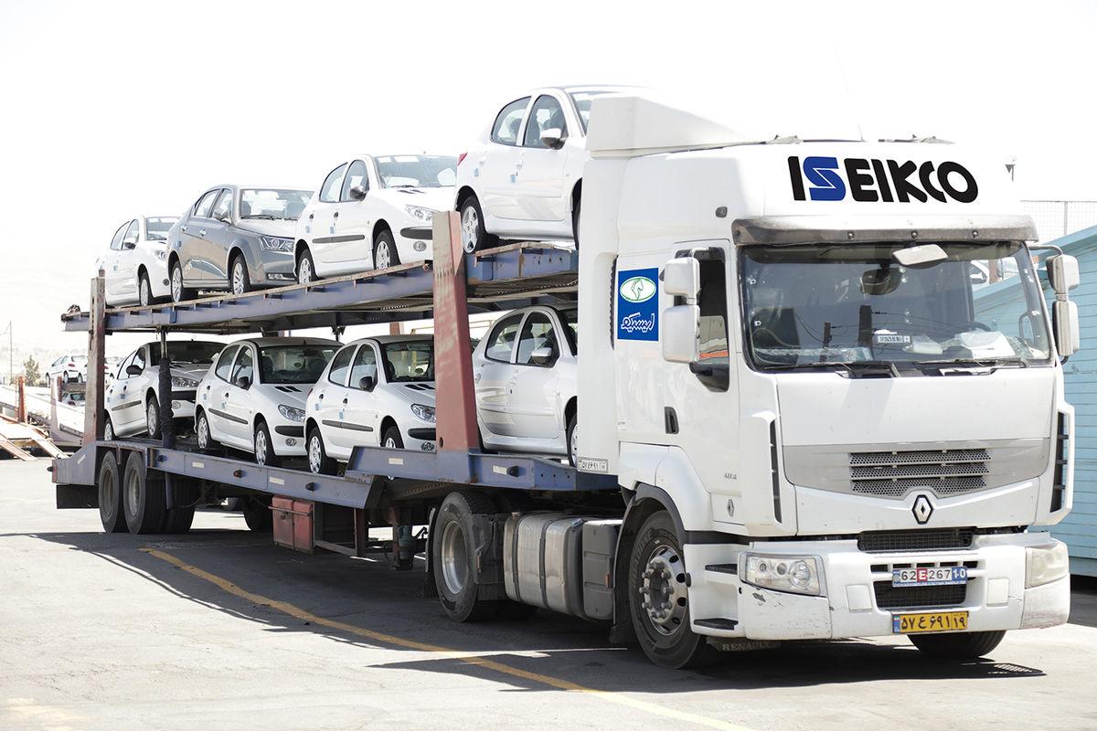 رشد ۳۴ درصدی حمل محصولات گروه صنعتی ایران خودرو در پنج ماهه نخست امسال