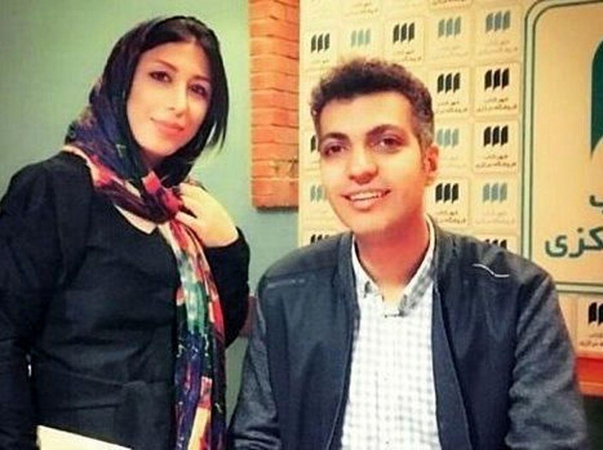عکس لورفته از عادل فردوسی پور در کنار بازیگر زن + عکس