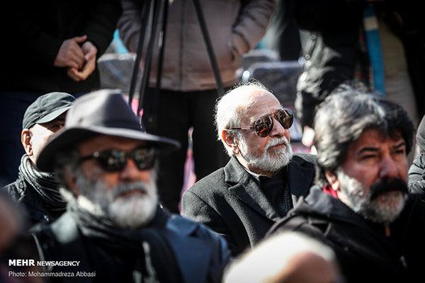 مراسم تشییع پیکر مرحوم ولیالله شیراندامی