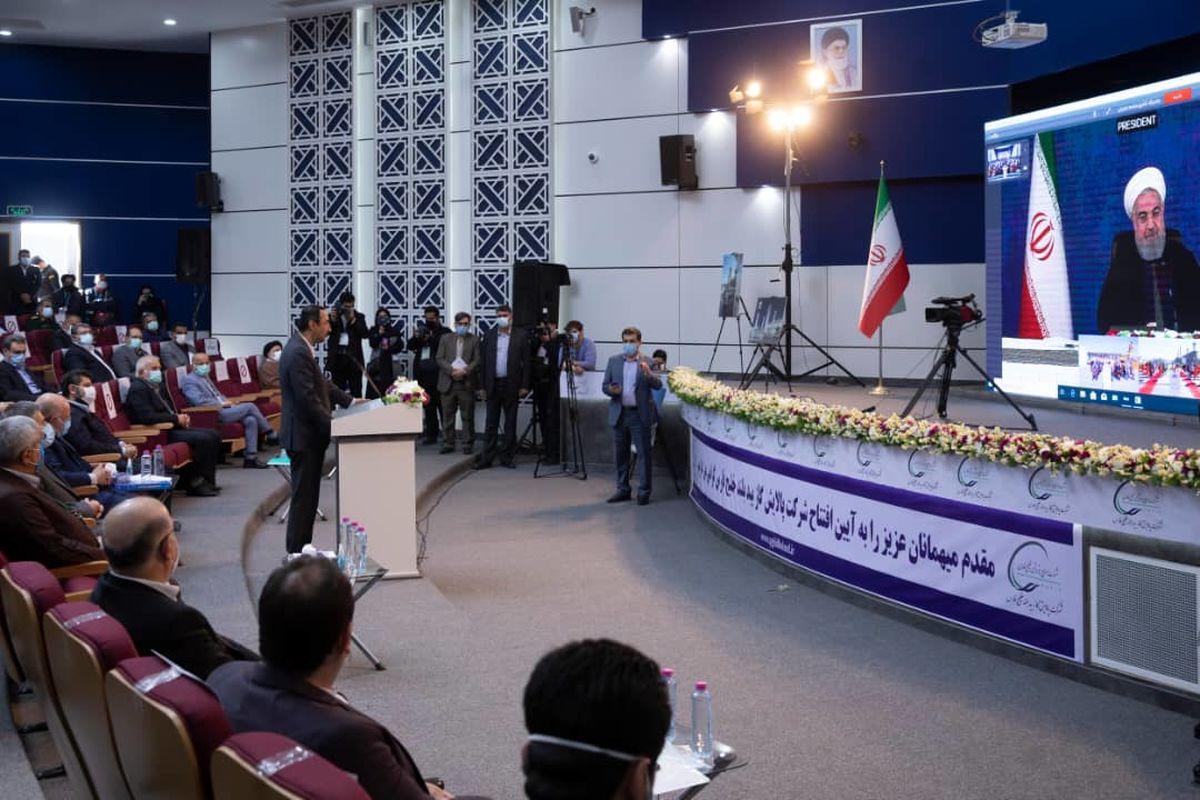 گزارش تصویری: مراسم بهره برداری از پالایشگاه بیدبلندخلیج فارس