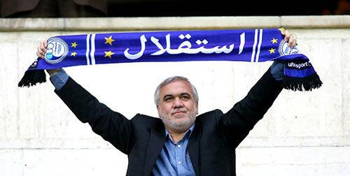فتحاللهزاده رسما سرپرست استقلال شد