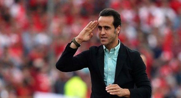 علی کریمی به فوتبال برگشت+تصاویر