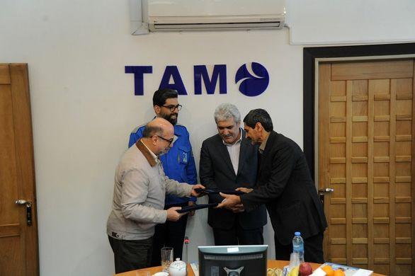 امضای تفاهمنامه مشارکت در حوزه حمل و نقل پیشرفته با شرکت تام
