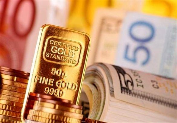 دلار و طلا ارزان شد
