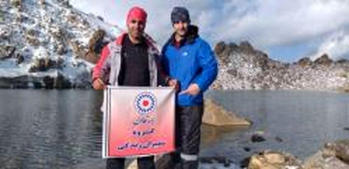 فتح سومین قله بلند ایران توسط نماینده بیمه تعاون