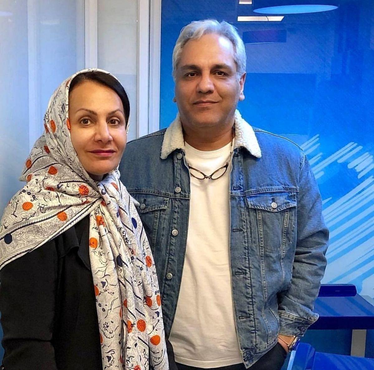 مهران مدیری از همسرش رونمایی کرد + تصاویر و بیوگرافی