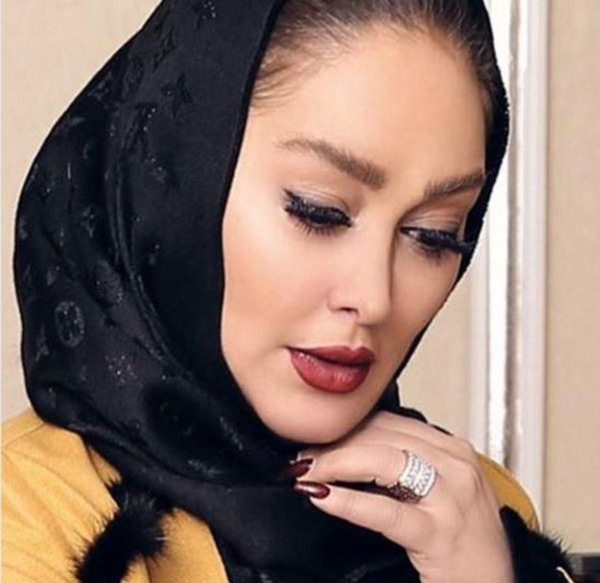 الهام حمیدی بازیگر معروف رسما وارد عرصه مدلینگ شد + عکس