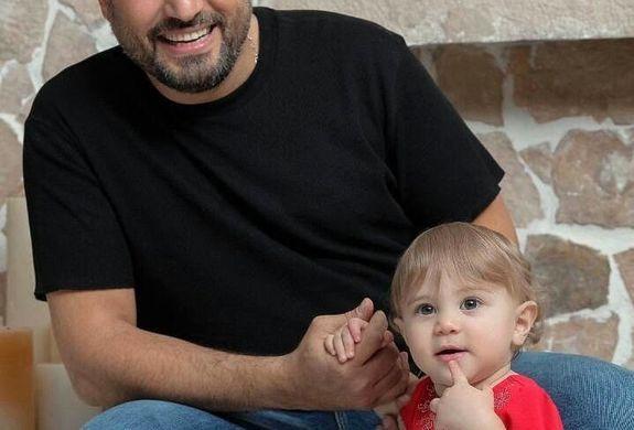 عکس دیده نشده از سام درخشانی و دخترش به مناسبت تولد او + تصاویر