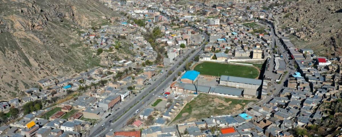بهسازی و آماده سازی میدان فوتبال ماکو