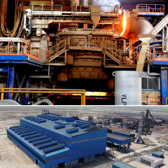 ذوب و فولادسازی جهان فولاد سیرجان در انتظار افتتاح رسمی
