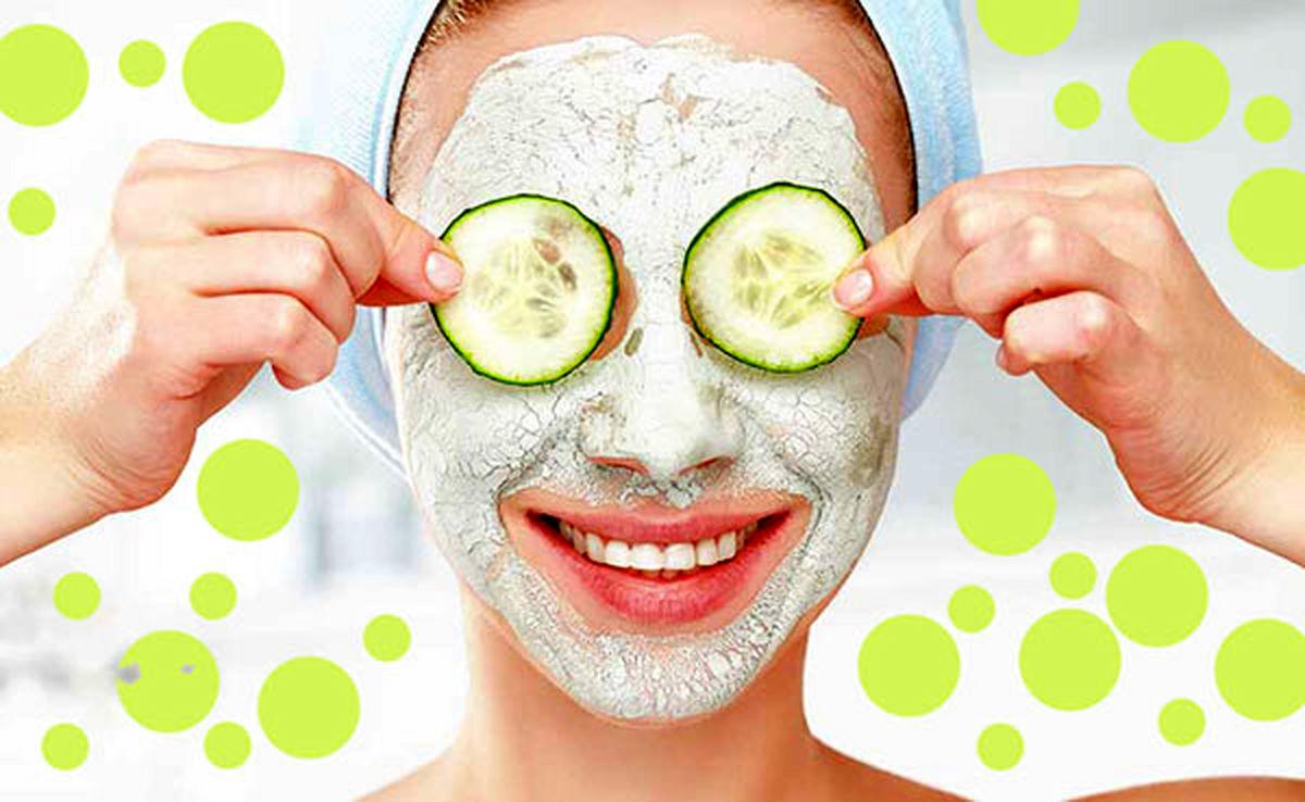 مصرف خیار در زیبایی پوست+طرز تهیه