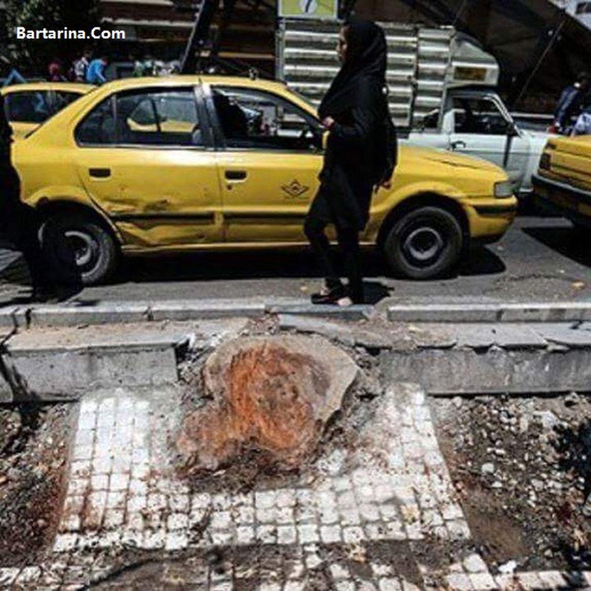 تجاوز جنسی راننده پراید به زن تهرانی در یک روز توسط چند نفر + عکس