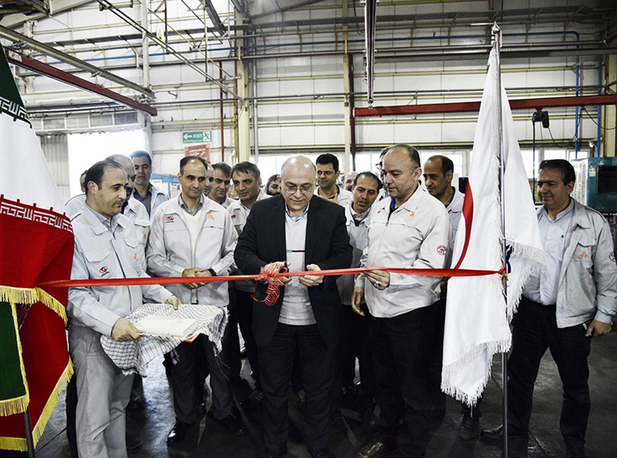 افتتاح خط تولید مجموعه طبق تیبا در مگاموتور