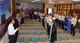 مراسم عزاداری شهادت حضرت فاطمه زهرا در نمازخانه پتروشیمی پارس