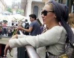 کشف حجاب نیکی کریمی در برلین + تصاویر