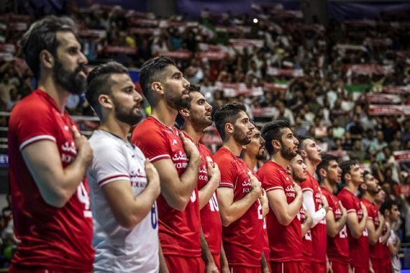 پخش زنده مسابقه والیبال ایران و لهستان