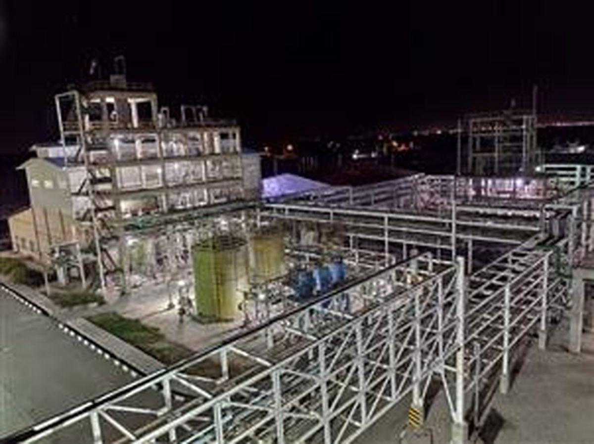 افتتاح طرح پارس کیمیا کلر خوزستان با تسهیلات بانک صنعت و معدن