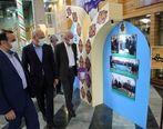 بازدید مدیرعامل بانک کشاورزی از نمایشگاه هفته بسیج